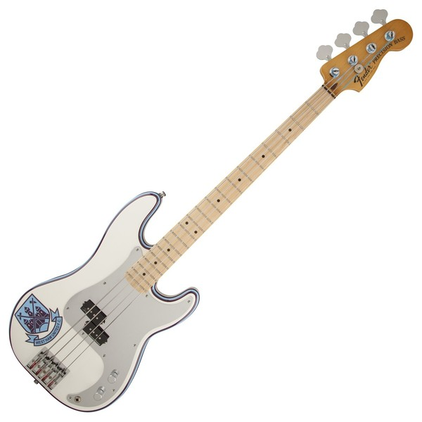 Fender Steve Harris Precision Bass, Olympic White