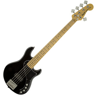 Squier by Fender Deluxe Dimension 5 String Bass V, Black