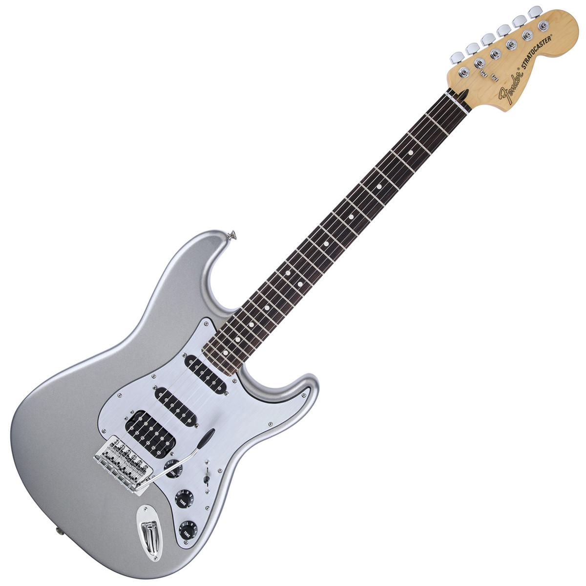 fender limited edition lone star strat rw ghost silver at gear4music. Black Bedroom Furniture Sets. Home Design Ideas