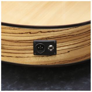 Ibanez AEW23ZW Electro Acoustic Guitar, Zebrawood Back & Sides