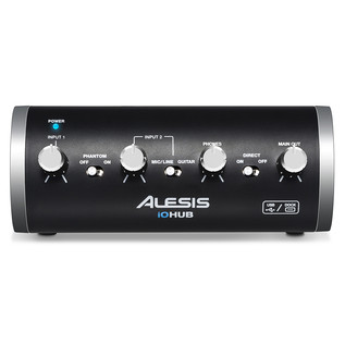 Alesis iO Hub 2-Channel Audio Interface, Front
