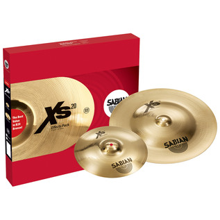 Sabian XS20 10'' Splash + 18'' China Effects Pack, Brilliant Finish
