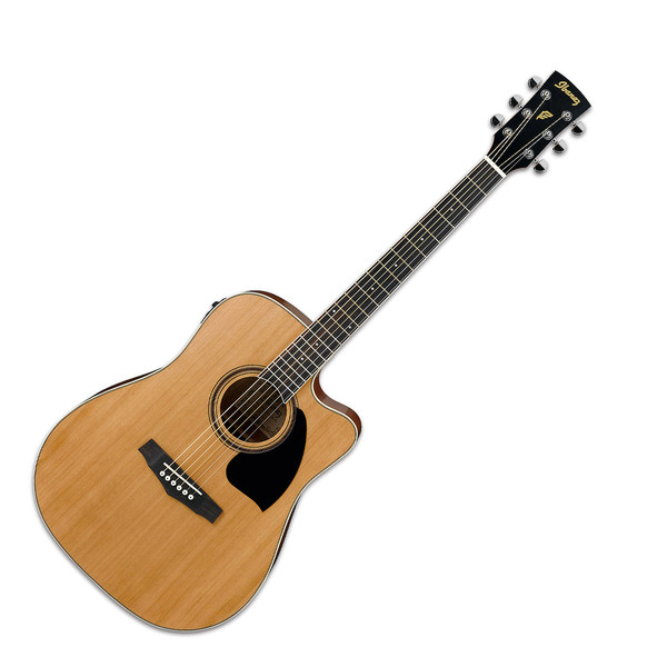 Ibanez PF17ECE Dreadnought Cutaway Electro Acoustic Guitar, Low Gloss