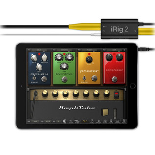 IK Multimedia iRig 2 Mobile Guitar Interface for iOS