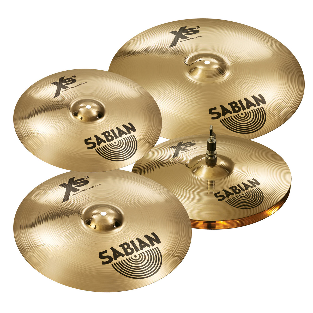 8ab39bee0b09 Sabian XS20 Set 14   Hi-Hats
