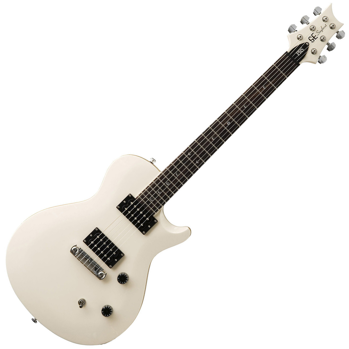 disc prs se singlecut electric guitar white with birds inlays at gear4music. Black Bedroom Furniture Sets. Home Design Ideas