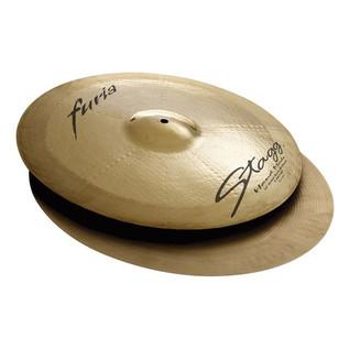Stagg Furia 15'' Rock Hi-Hat Cymbals
