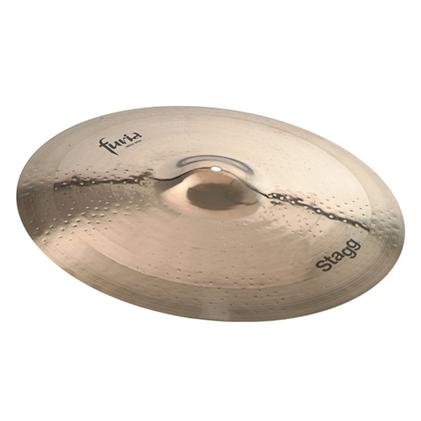 Stagg Furia 21'' Rock Ride Cymbal, Brilliant Finish