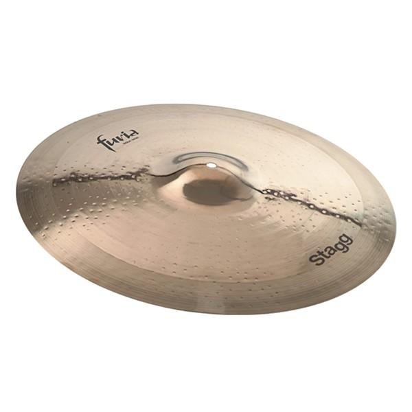 Stagg Furia 21'' Rock Ride Cymbal, Brilliant Finish