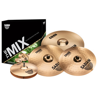 Sabian Basement Mix Pack