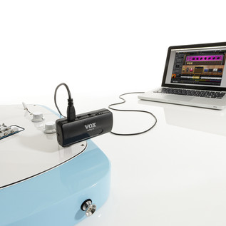 Vox amPlug I/O USB Audio Interface for Guitar with Tuner