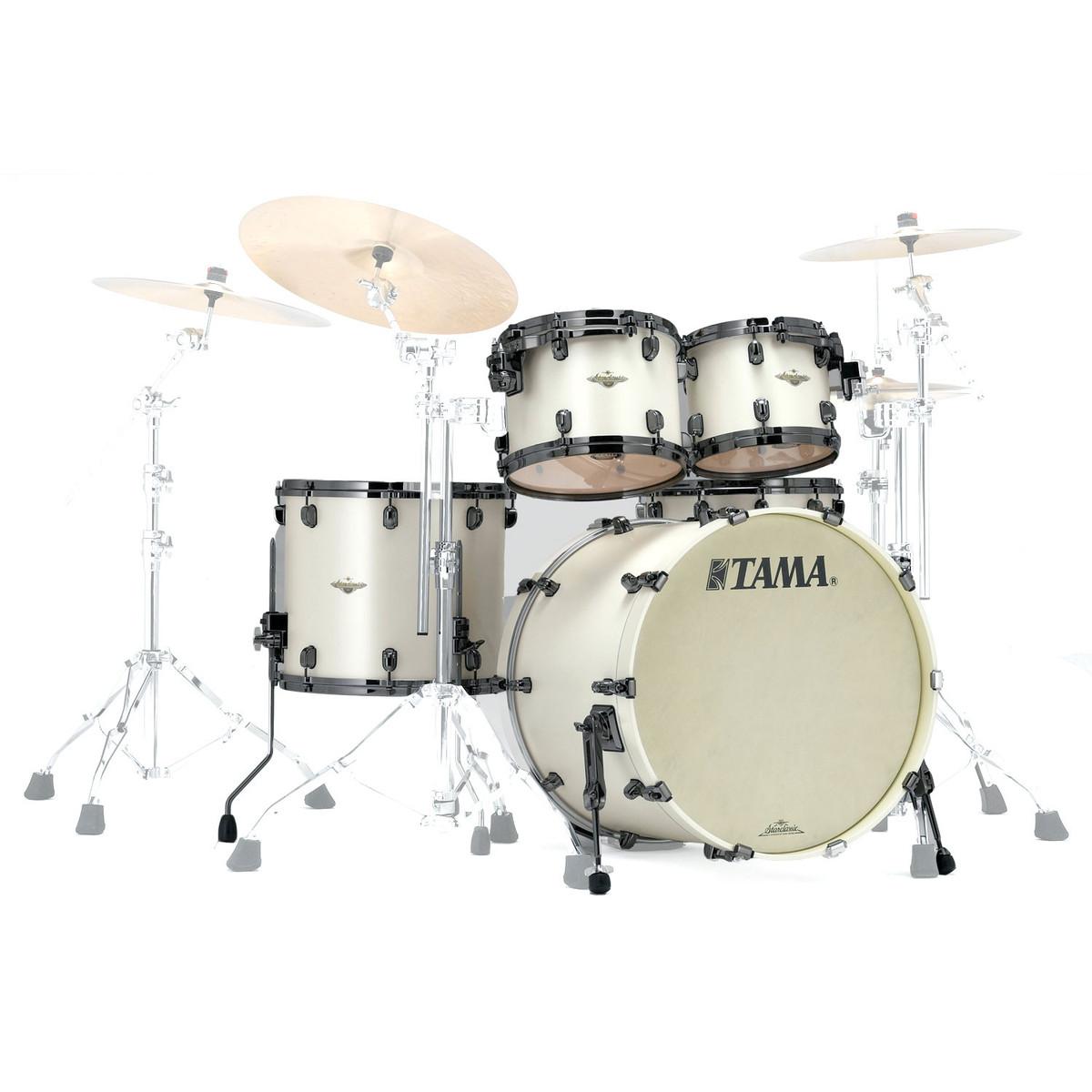 tama starclassic bubinga 22 39 39 4pc shell pack satin pearl white at gear4music. Black Bedroom Furniture Sets. Home Design Ideas