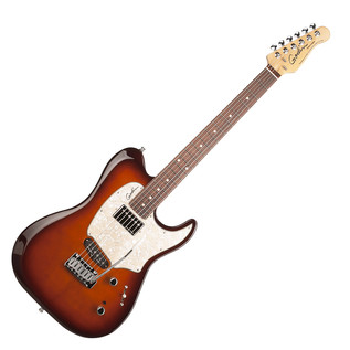 Godin Session Custom 59 Electric Guitar, Tobacco Sunburst