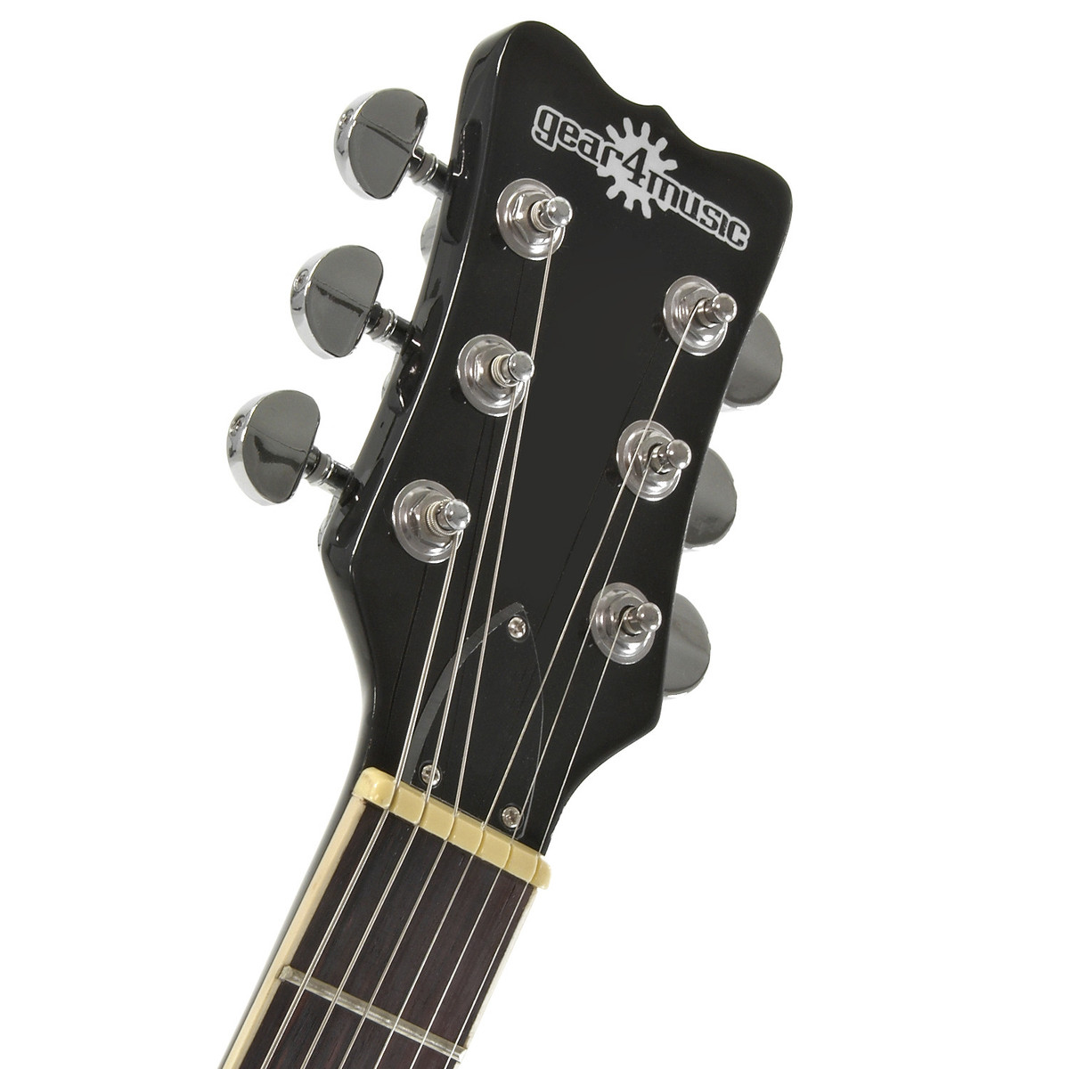 new jersey electric guitar by gear4music union jack nearly new at gear4music. Black Bedroom Furniture Sets. Home Design Ideas