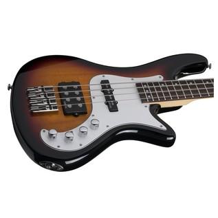 Schecter Stiletto Vintage-4 Bass Guitar, Sunburst