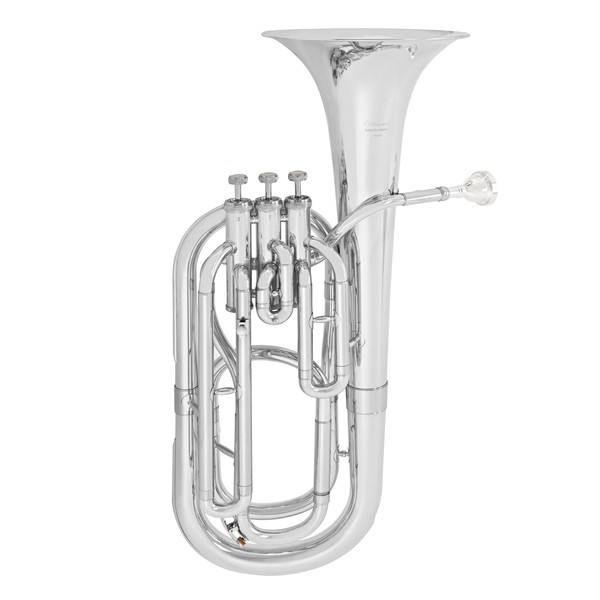 Elkhart 100BHS Baritone Horn, Silver