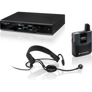 Sennheiser EW D1-ME3 Digital Wireless Headset Microphone System