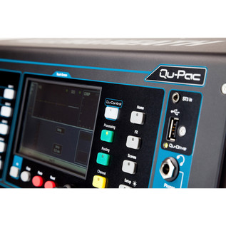 Allen and Heath QU-PAC Ultra Compact Digital Mixer, Front