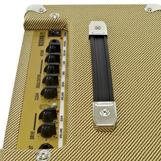 SubZero New Orleans Guitar, Natural + SubZero V35RG Amp Pack