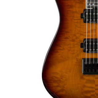 Jackson Pro Series DK2Q HT Dinky Electric Guitar, Tobacco Burst