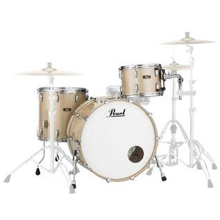 Pearl FW903XP Wood Fiberglass Ltd Ed. Shell Pack, Platinum Mist