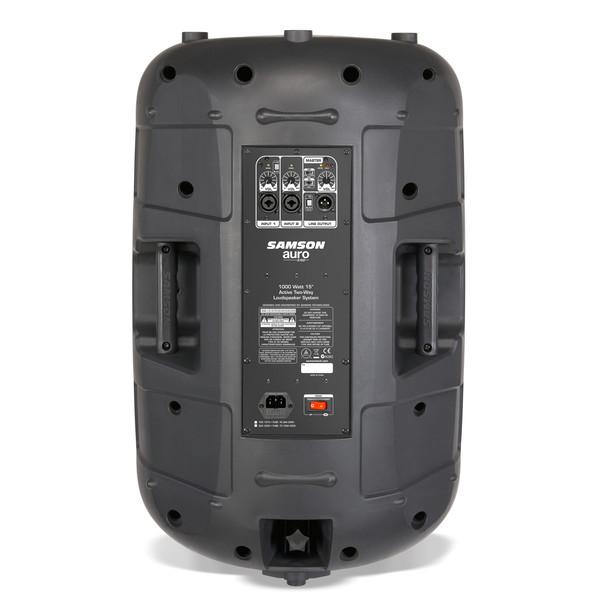 Samson Auro X15D Active Loudspeaker, Rear