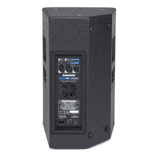Samson RSX112A 2-Way Active Loudspeaker, Rear Panel