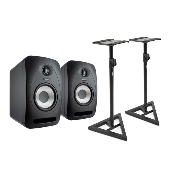 Tannoy Reveal 502 Studio Monitors, with Stands