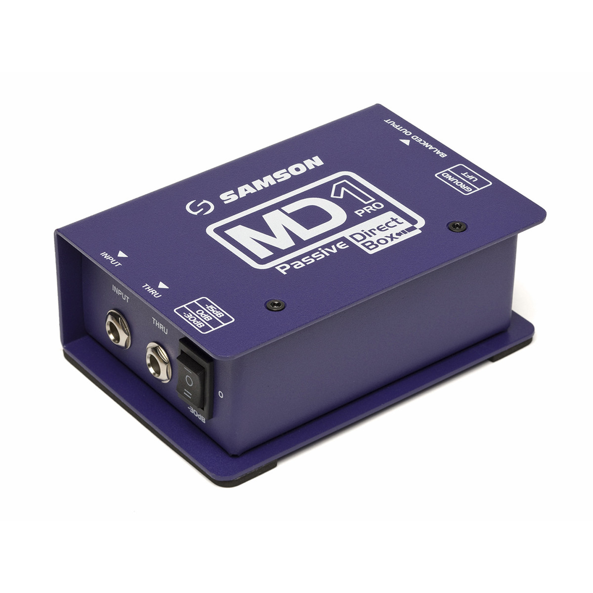 Click to view product details and reviews for Samson S Max Md1 Pro Mono Passive Direct Box.