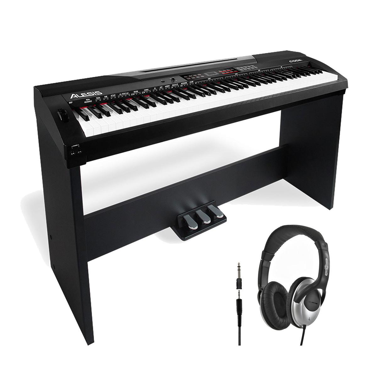 disc alesis coda piano num rique de 88 touches avec. Black Bedroom Furniture Sets. Home Design Ideas
