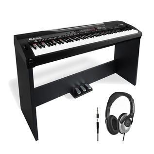 Alesis CODA 88-Key Digital Piano with Stand and FREE Headphones
