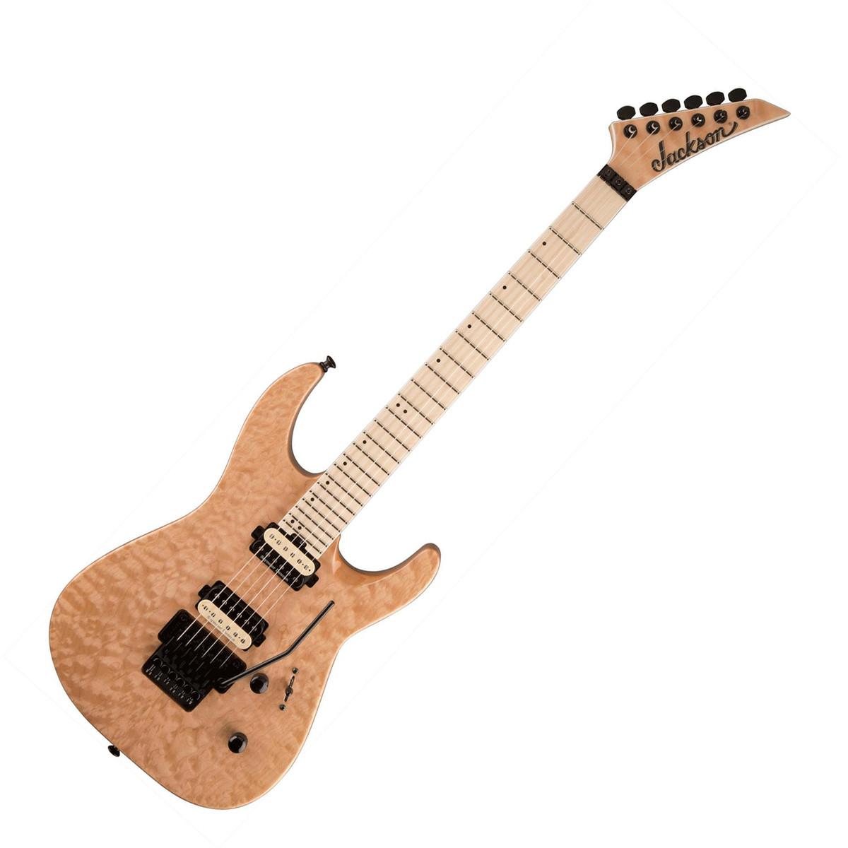 disc jackson pro dinky dk2qm electric guitar natural blonde at gear4music. Black Bedroom Furniture Sets. Home Design Ideas