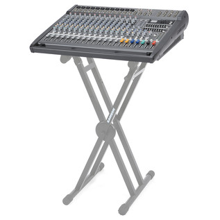 Samson S4000 Powered Mixer, On Stand (Stand Not Included)