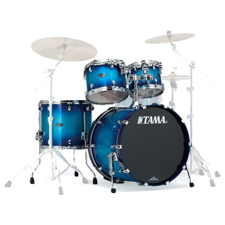 Tama Starclassic Performer 22'' 4 Pc Shell Pack, Twilight Blue Burst