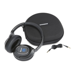 Samson RTE X Headphones, Case & Audio Cable