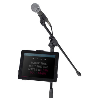 Samson TSI1 Tablet Mount Stand (iPad + Mic Stand + Mic Not Included)