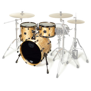 Mapex Saturn V MH Exotic Series Club Classic, Natural Maple Burl