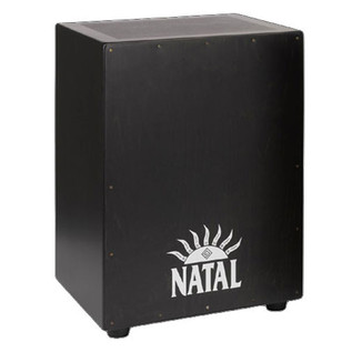 Natal Andante XL Cajon, Snare Wires, Birch Black