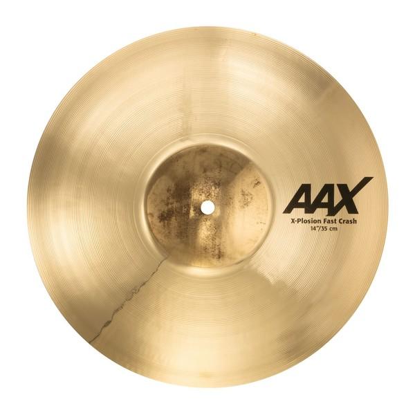 Sabian AAX 14'' X-Plosion Fast Crash Cymbal, Brilliant Finish - Main Image