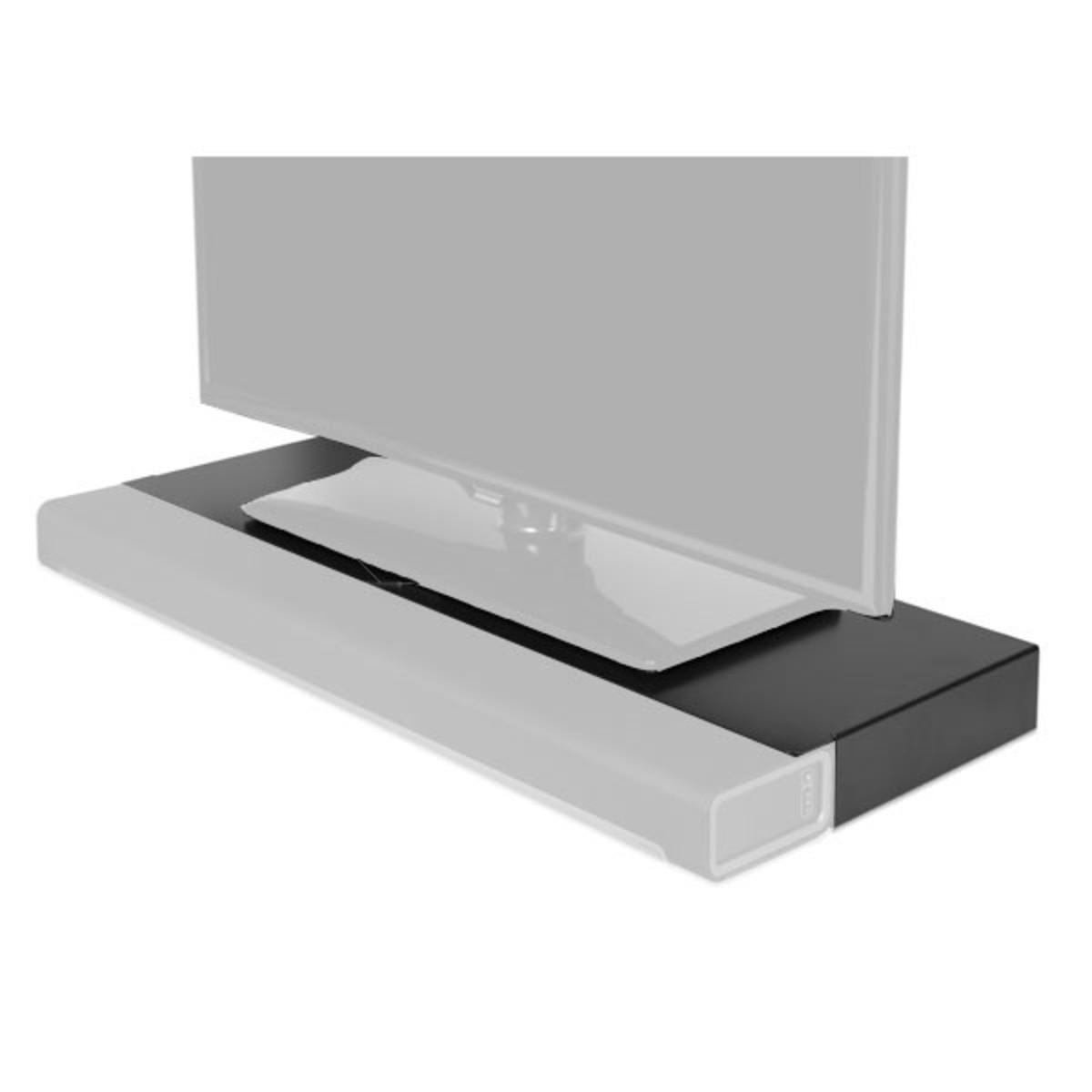 Meuble Tv Flexson Pour Sonos Playbar Noir Gear4music Com # Meuble Tv En Noir