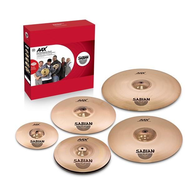 Sabian AAX Praise and Worship Gospel Cymbal Box Set