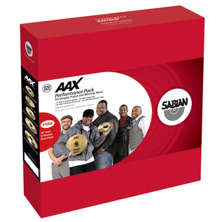 Sabian AAX Praise and Worship Gospel Cymbal Box Set