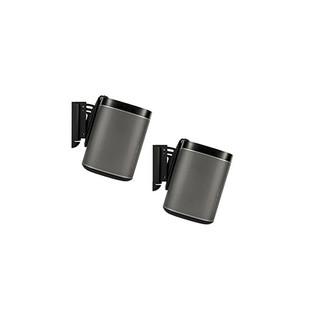 Flexson Wall Mount for SONOS PLAY:1 - Black (Pair)