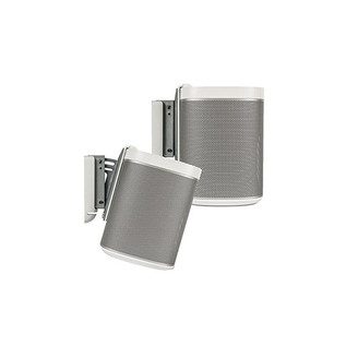 Flexson Wall Mount for SONOS PLAY:1 - White (Pair) 2