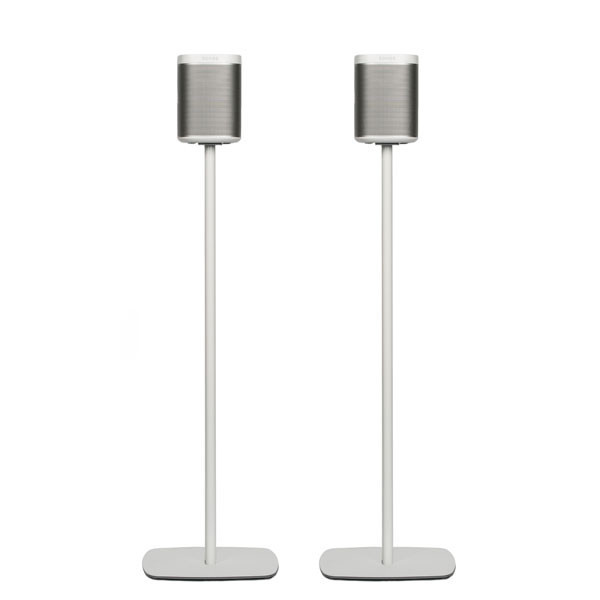 Flexson Floorstand for Sonos PLAY:1, White (Pair)