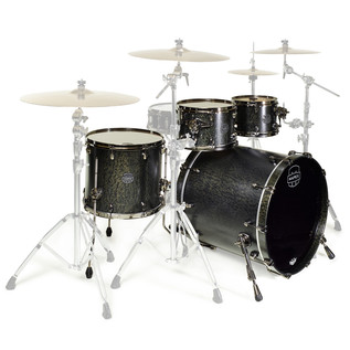 Mapex Saturn V MH Exotic Series Sub Wave, Flat Black Maple Burl