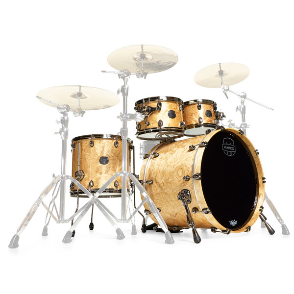 Mapex Saturn V MH Exotic Series Sound Wave, Natural Maple Burl