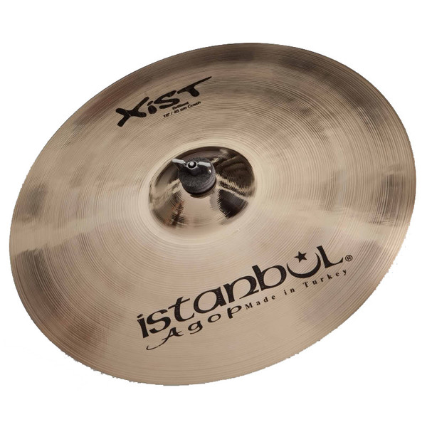 Istanbul Agop Xist 19'' Crash Cymbal, Brilliant Finish