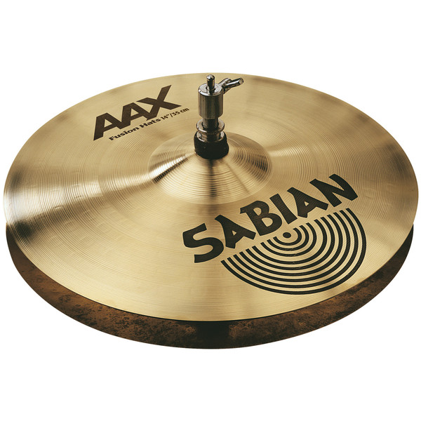 Sabian AAX 14'' Fusion Hi-Hat Cymbals, Brilliant Finish - Main Image