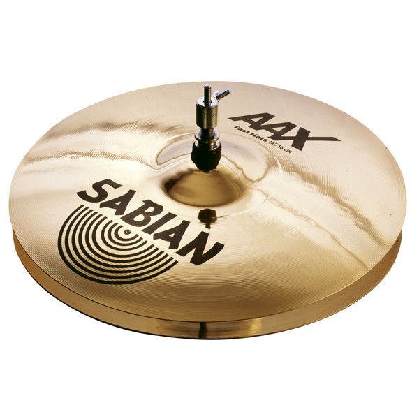 Sabian AAX 14'' Fast Hi-Hat Cymbals, Brilliant Finish - Main Image